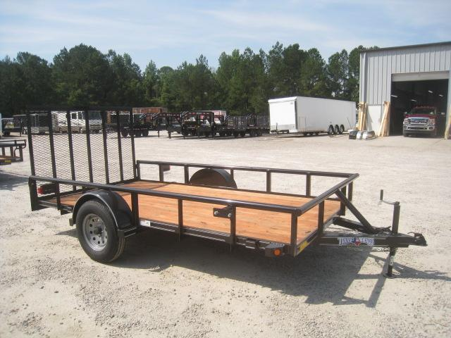 2020 Texas Bragg Trailers Heavy Duty 6x12 Utility Traile with Rear Gater