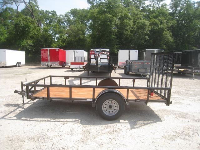 2020 Texas Bragg Trailers Heavy Duty 6x12 Utility Traile with Rear Gater