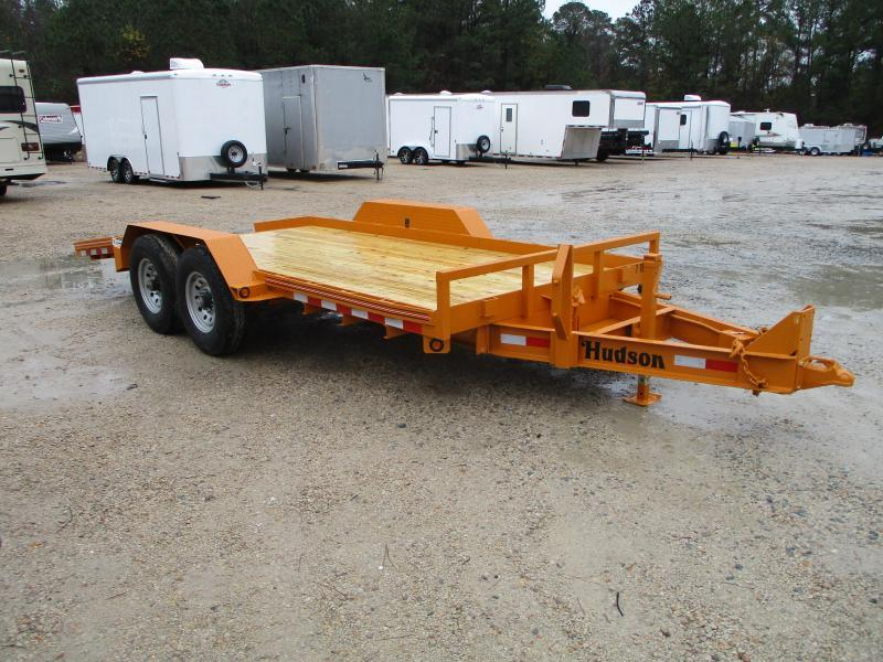 2021 Hudson Brothers HSLT18 (7) Ton 18' Tilt Equipment Trailer with Dexter Axles