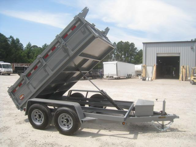2020 Covered Wagon Trailers Prospector 6x10 Dump Trailer