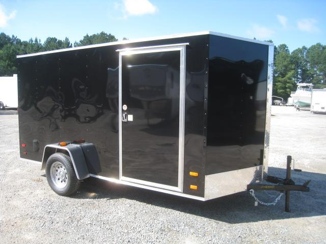 PRICE BUSTER 2021 Covered Wagon Trailers Silver Series 6x12 Vnose Enclosed Cargo Trailer with Ramp Door