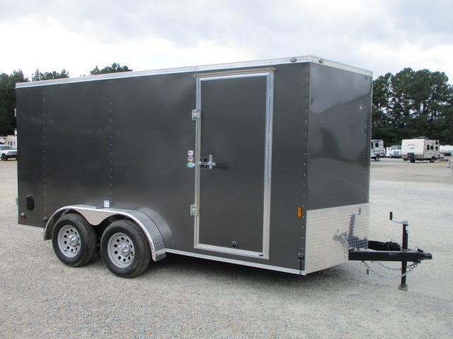 2022 Continental Cargo Sunshine 7 x 14 Vnose Enclosed Cargo Trailer