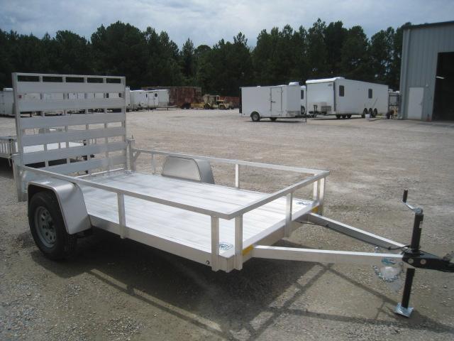 2019 Continental Cargo Rough Rider Aluminum 5x10 Utility Trailer