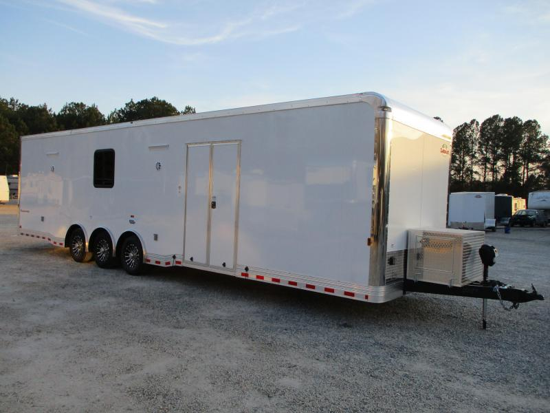 2021 Cargo Mate 34' Eliminator SS Race Trailer with Full Bath Package