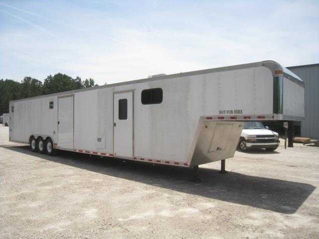 2006 Pace American Shadow 48' Car / Racing Trailer with Full Bathroom Package
