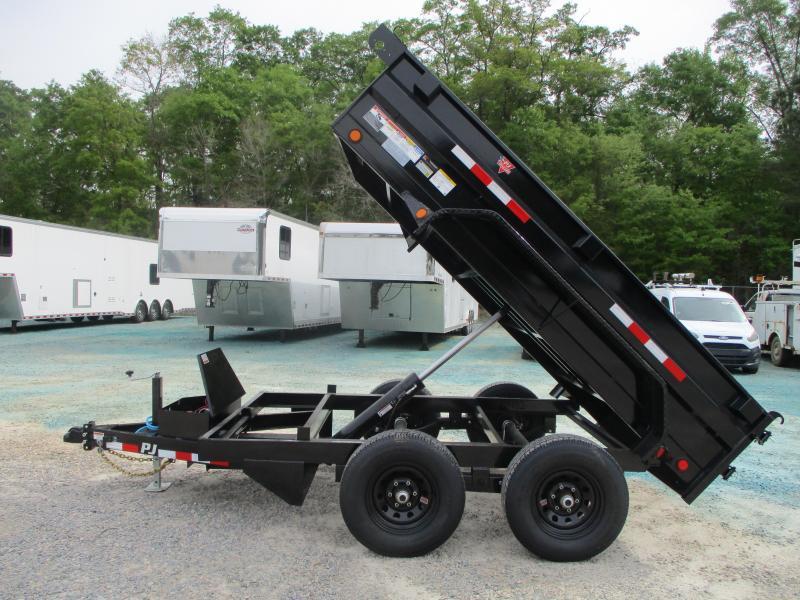 2021 PJ Trailers D3 10 x 72 Tandem Axle Dump Trailer with 5200lb Axles