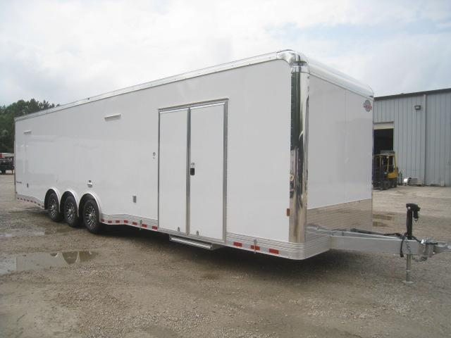 2021 Cargo Mate Eliminator SS 34' Aluminum Loaded Car / Racing Trailer