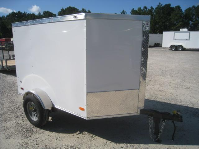 2021 Covered Wagon Trailers Gold Mine Series 4x6 Vnose Enclosed Cargo Trailer