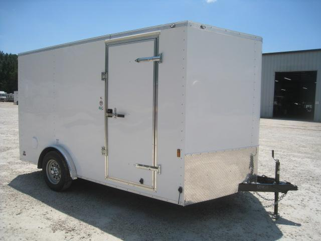 2021 Continental Cargo Sunshine 7.5x12 Vnose Enclosed Cargo Trailer  with Ramp Door
