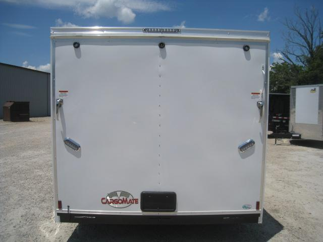 2021 Continental Cargo Sunshine 7.5x12 Vnose Enclosed Cargo Trailer  with Ramp Door