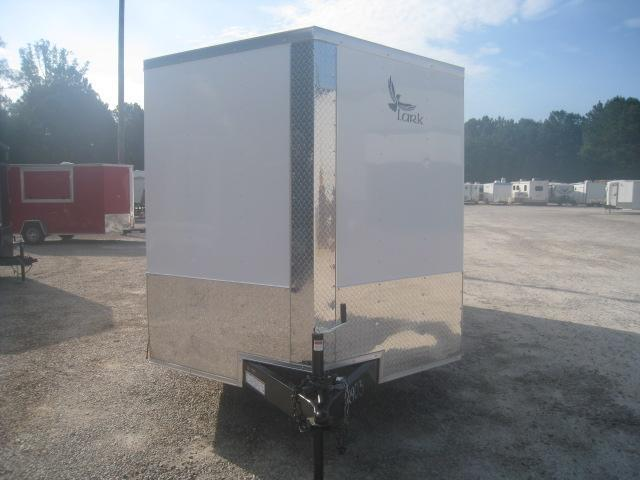 SPECIAL BUY 2020 Lark 7x16 Vnose Enclosed Cargo Trailer with Ramp Door