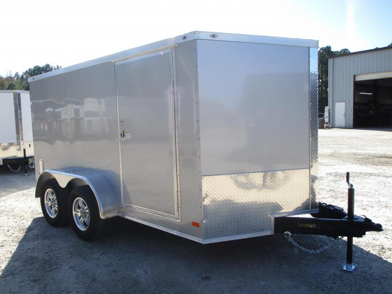 2021 Covered Wagon Trailers Gold Series Motorcycle Trailer  with Finished Interior