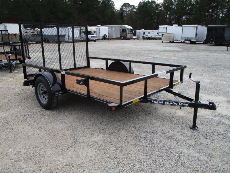 2021 Texas Bragg Trailers 6x10LD Utility Trailer with Rear Gate