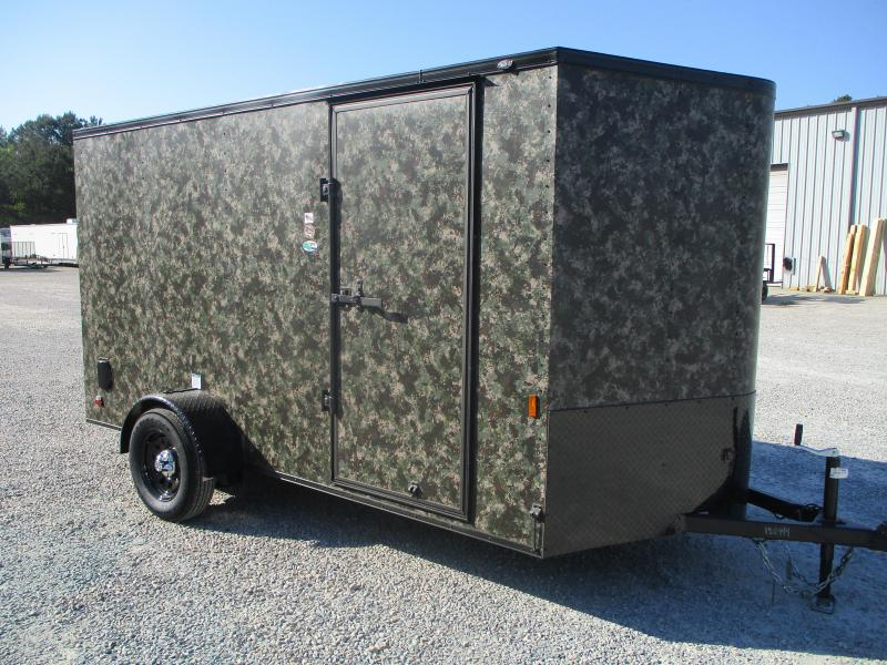 2022 Continental Cargo Sunshine Extra Wide 6.5 x 12 Vnose Enclosed Cargo Trailer