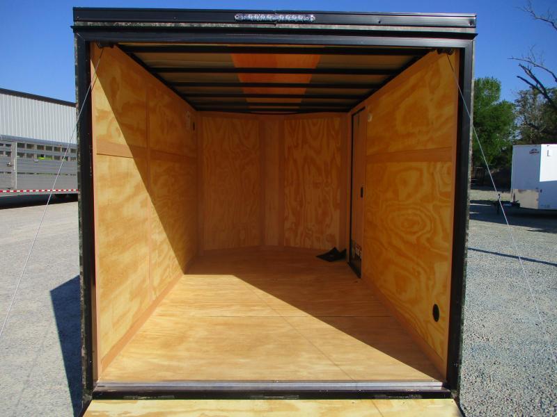 2022 Continental Cargo Sunshine Extra Wide 6.5 x 12 Vnose Enclosed Cargo Trailer