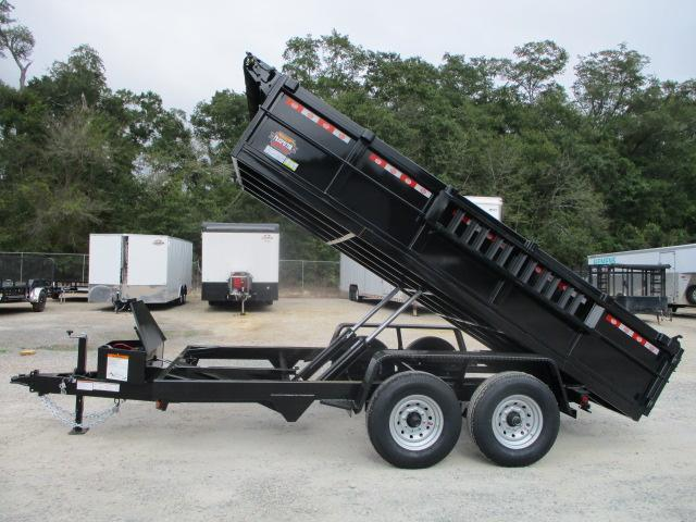 2022 Covered Wagon Trailers Prospector 7x14 Dump Trailer with Tarp and Ramps
