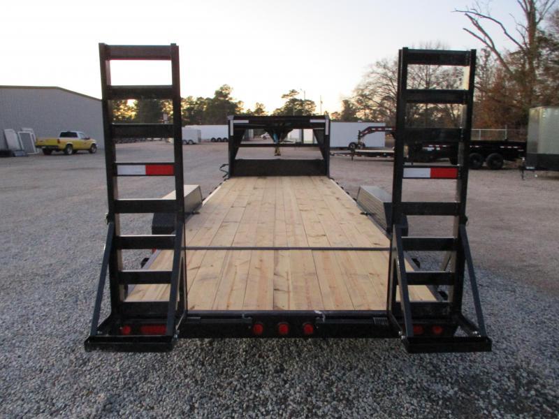 2021 PJ Trailers CC 24' Gooseneck Equipment Trailer with 7k Dexters