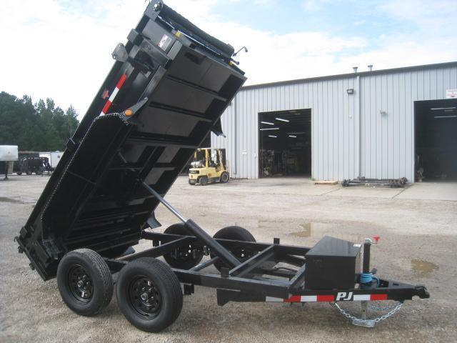 2021 PJ Trailers D5 10 x 60 Dump Trailer with Tarp