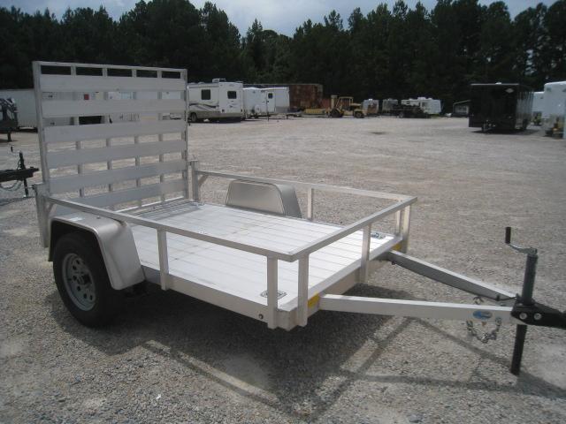 2019 Continental Cargo Rough Rider Aluminum 5x8 Utility Trailer