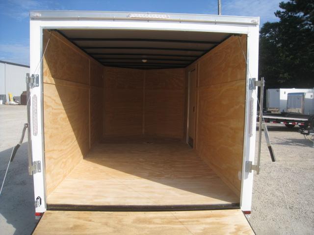 SPECIAL BUY 2020 Lark 7X14 Vnose Enclosed Cargo Trailer with Ramp Door