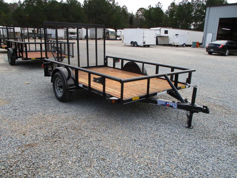 2021 Texas Bragg Trailers 6x10P Heavy Duty Utility Trailer with Rear Gate