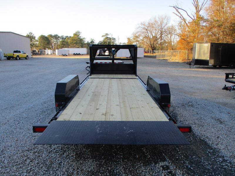 2021 PJ Trailers T6 Gooseneck 16 + 4 Tilt Bed Equipment Trailer