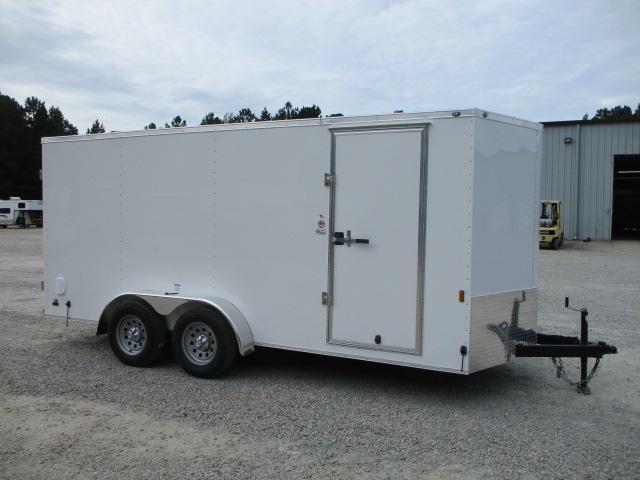 2022 Continental Cargo Sunshine 7x16 Vnose Enclosed Cargo Trailer