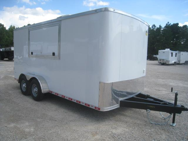 2020 Covered Wagon Trailers Gold Series 7x16 Vending / Concession Trailer