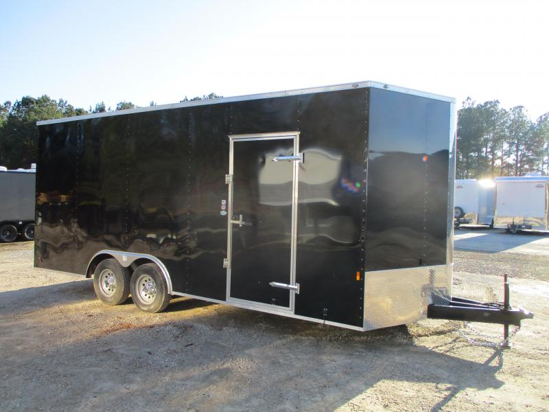"2021 Continental Cargo Sunshine 8.5 x 20 Vnose Race Trailer with 12"" Extra Height"