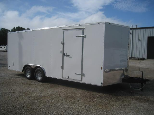 2021 Continental Cargo Sunshine 8.5x20 Vnose Race Trailer
