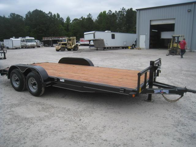 2020 Texas Bragg Trailers 16+2 Heavy Car Hauler with Big Axles