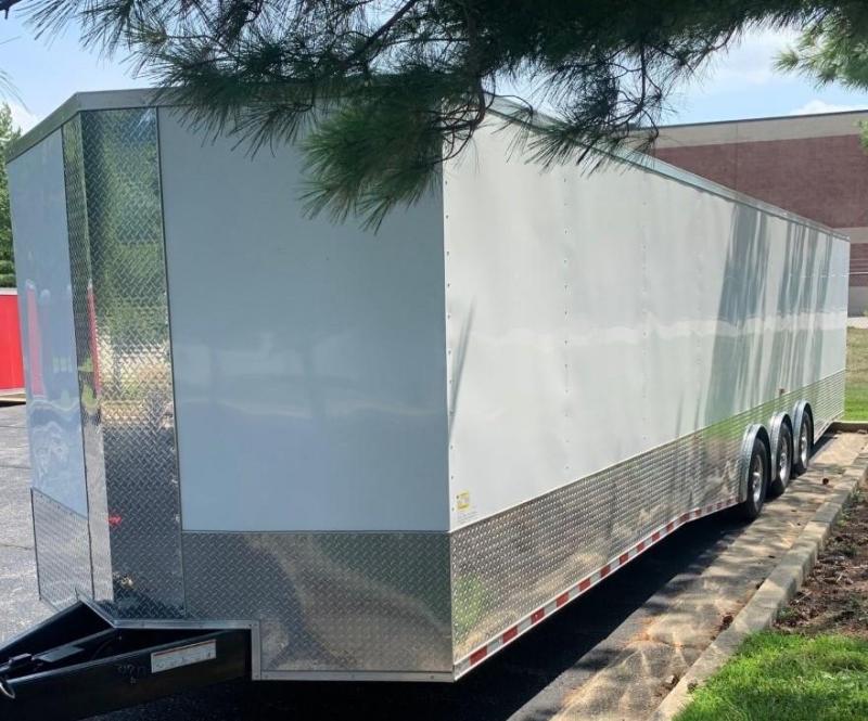 2021 Rock Solid Cargo V-Nose Enclosed Trailer