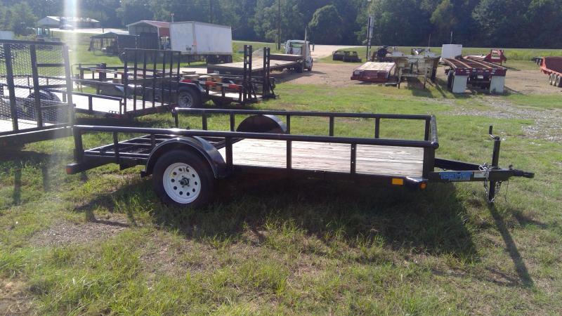 2019 Top Hat Trailers DSP Utility Trailer