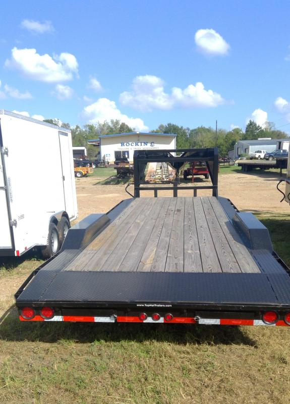2018 Top Hat Trailers GN Equipment Trailer