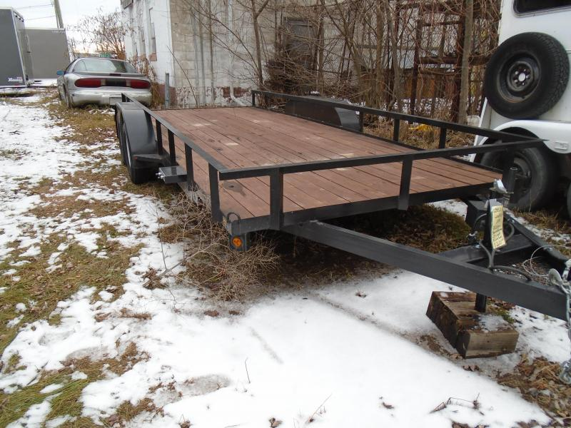 2018 GE used 18' 7k Landscape Equipment Trailer