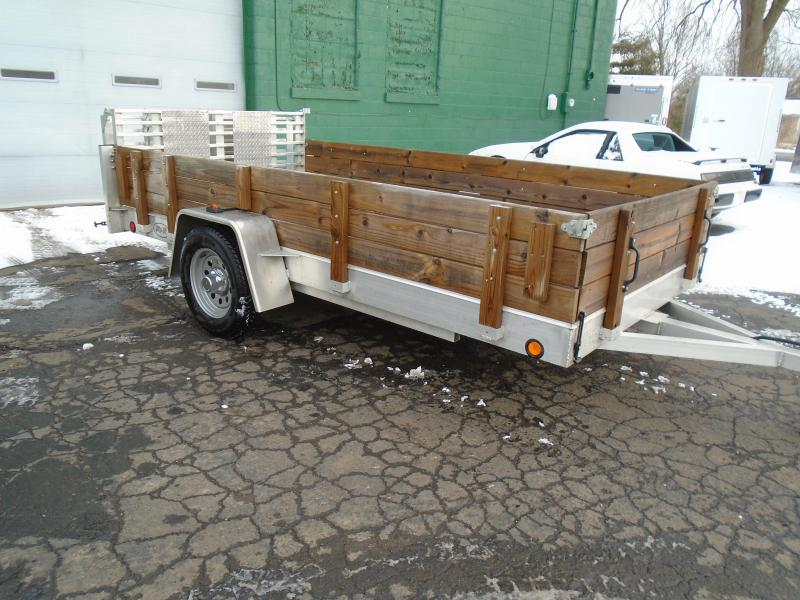 2018 R and R Trailers 6x12 R&R Aluminum Utility Trailer