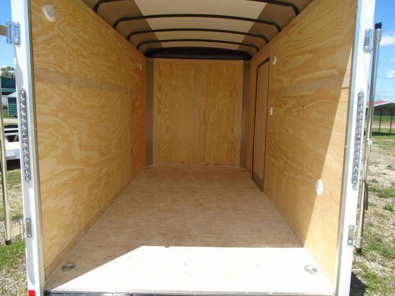 2021 Haul-About 6x12 SA LYNX Enclosed Cargo Trailer