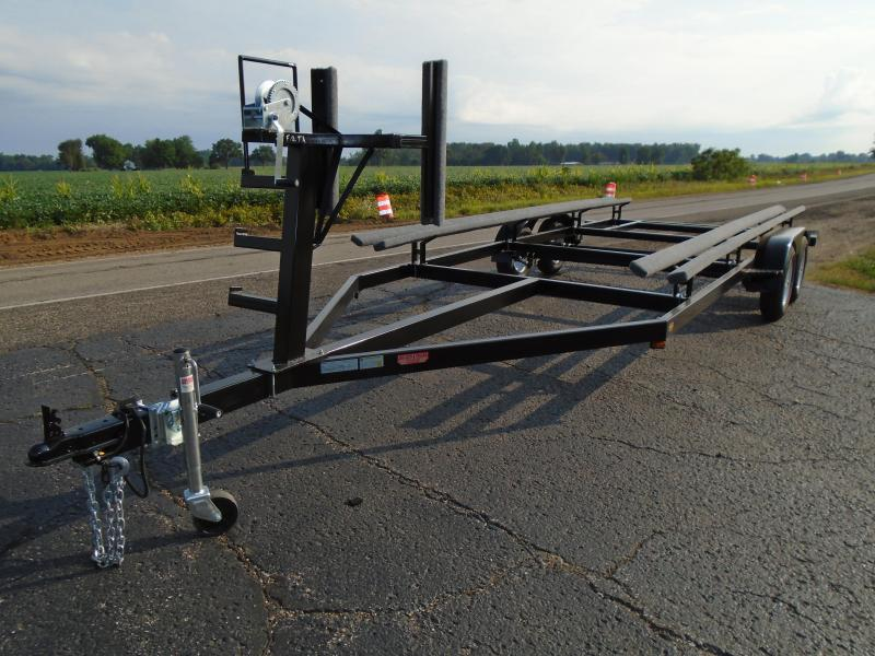 2021 GE 22' Float on or Centerlift Tandem Pontoon Trailer