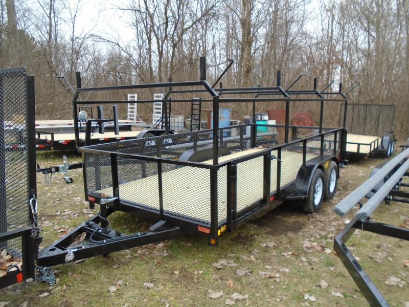 2021 GE 7x16 7k Contractor's Special Landscape Utility Trailer
