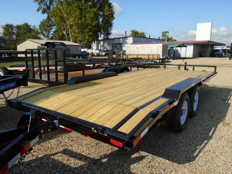 2021 GE 18 14k drive over fender Equipment Trailer