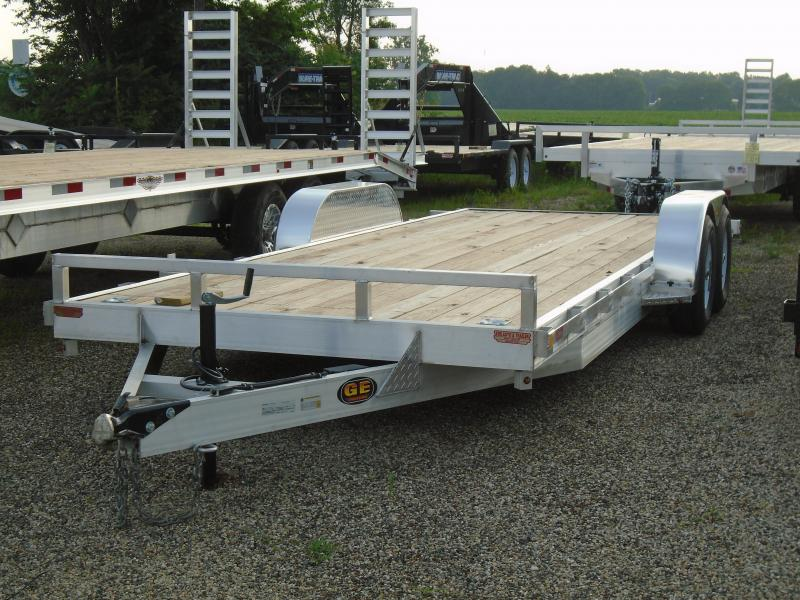 2021 GE 20' aluminum/ wood 10k Car / Racing Trailer