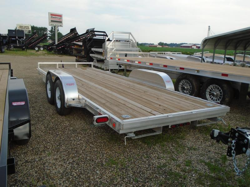 2020 GE 20' aluminum/ wood 10k Car / Racing Trailer