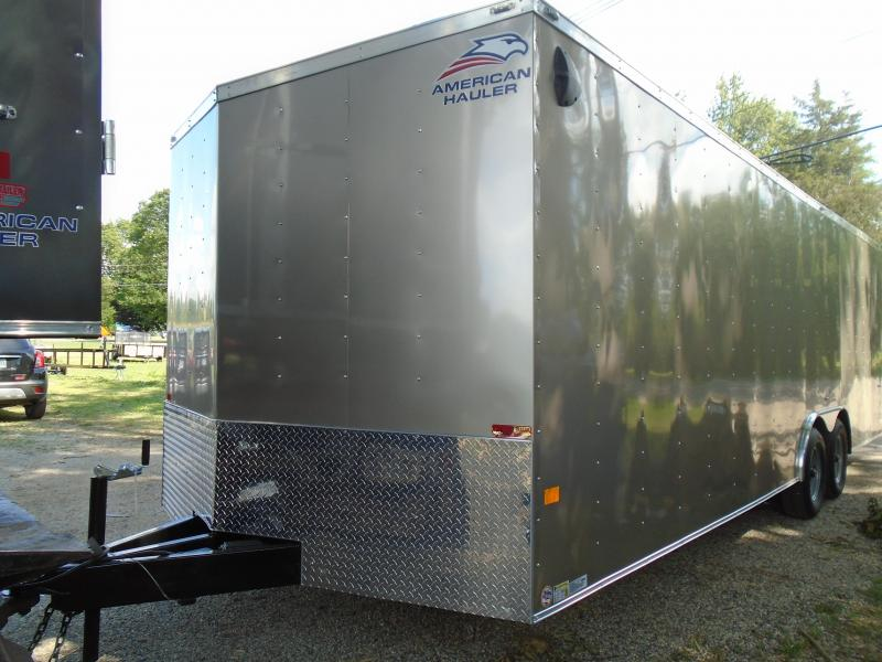 2021 American Hauler 8.5x24 10k Car / Racing Trailer