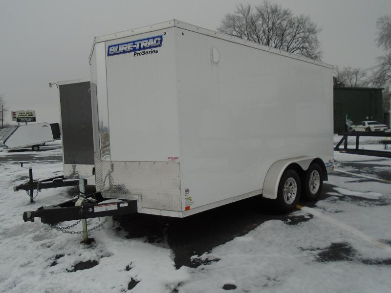 2019 Sure-Trac 7x14 Pro Series Wedge Enclosed Cargo Trailer