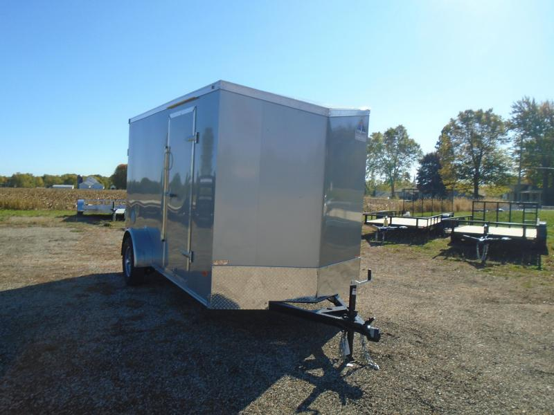 2020 Haul-About 6x12 SA Enclosed Cargo Trailer