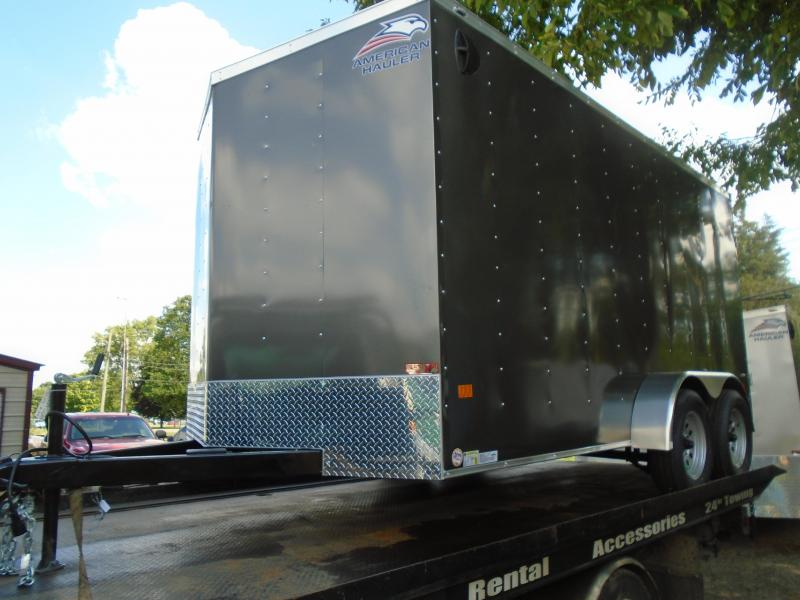 2021 American Hauler 7x14 7k Arrow Enclosed Cargo Trailer