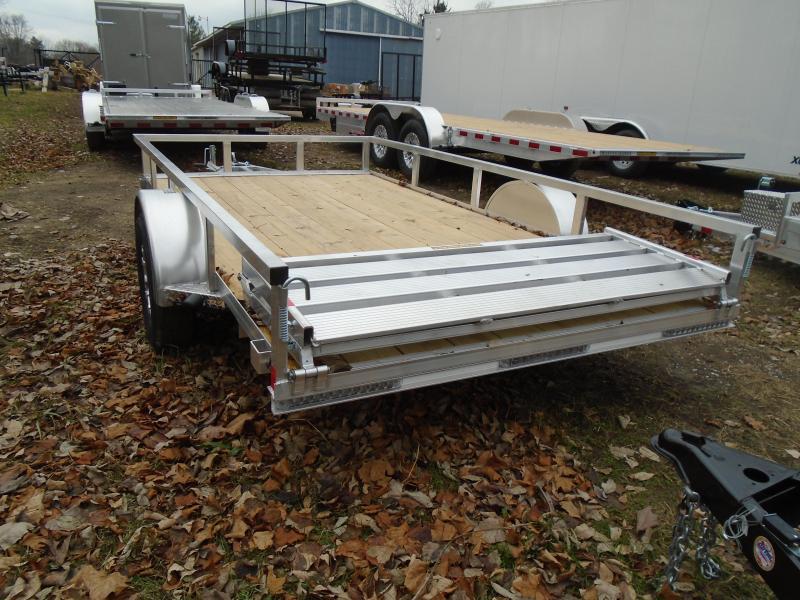 2020 H & H Trailers 6x12 Railside SA Aluminum Utility Trailer