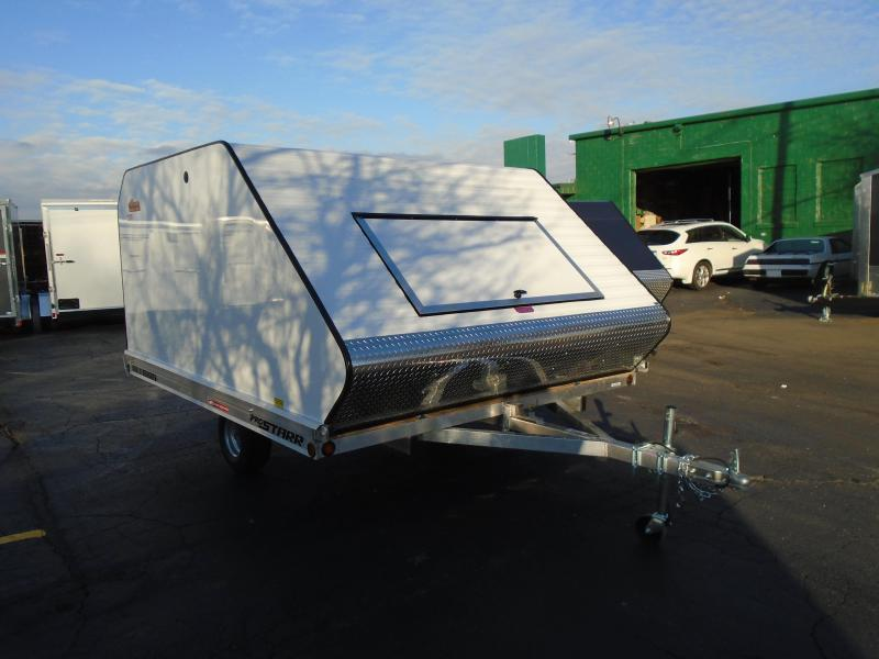 2021 Great Lakes Trailers 10' HD Tilt SA Snowmobile Trailer