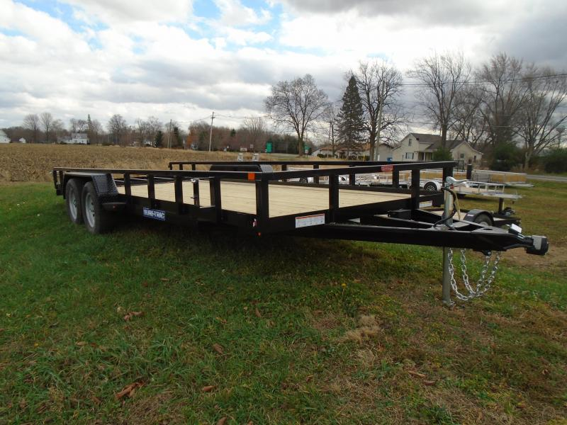 2021 Sure-Trac 7 x 20 Tube Top Utility Trailer  7K Tand
