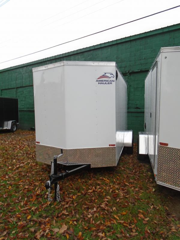 2021 American Hauler 6x12 SA Arrow Enclosed Cargo Trailer